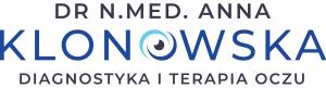 Okulista Kraków – Gabinet okulistyczny dr Anny Klonowskiej Logo